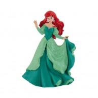 Bullyland Ariel hercegnő figura, zöld ruhában   BUL-12311