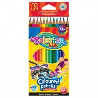 Colorino Kids Aquarell hatszögletű 12db-os színes ceruzakészlet   33039PTR