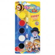 Colorino Kids arfestő szett 5 korongos 15950