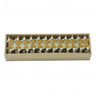 IMP-EX mini csipesz dekoráció 72db mini méhecske