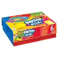 Colorino Kids tempera 6x20ml Neon 19897