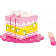 Legler fa szeletelhető játék sütemény 10885