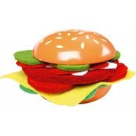 Legler fa játék hamburger filc betétekkel 4552