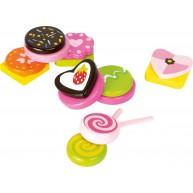 Legler fa játék édességek, cukorkák 10888