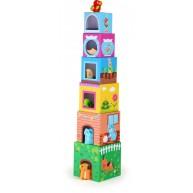 Legler toronyépítő kockák állatkákkal 10044