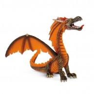 Bullyland Ülő sárkány, narancssárga BUL-75595