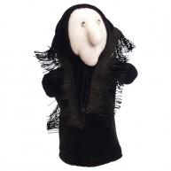 Puppet World 3 ujjas plüss boszorkány báb 1390