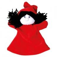 Puppet World 3 ujjas plüss piroska báb 1352