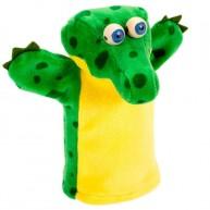 Puppet World 3 ujjas krokodil báb 4078