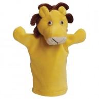 Puppet World 3 ujjas plüss oroszlán báb 1357