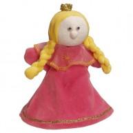 Puppet World 3 ujjas plüss hercegnő báb 1359