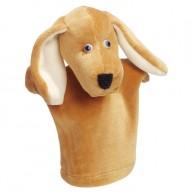 Puppet World 3 ujjas vizsla kutya báb gyerek kézre 1371