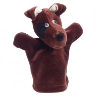 Puppet World 3 ujjas plüss foxi kutya báb 1364