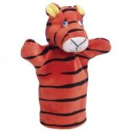 Puppet World 3 ujjas plüss tigris báb 1373