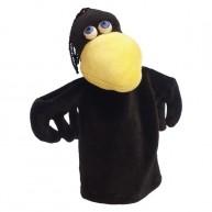 Puppet World 3 ujjas plüss varjú báb 1388