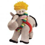 Puppet World kesztyűbáb gyerekeknek lovas fiú  1408
