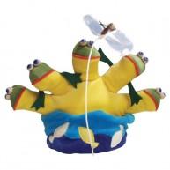 Puppet World kesztyűbáb gyerekeknek tó békákkal és léggyel 1435