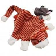 Puppet World kesztyűbáb gyerekeknek vörös cica 3616