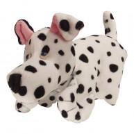 Kesztyűbáb felnőtt kézre dalmata kutya 2596