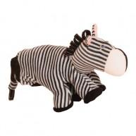 Kesztyűbáb felnőtt kézre zebra 2606