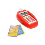 Elektromos kártyaolvasó játék terminál és számológép