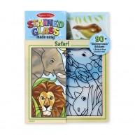 Melissa & Doug Melissa & Doug ólomüveg készítő gyerekeknek üvegzselével Szafari 9436