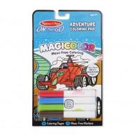 Melissa & Doug varázslatos színező füzet 4db mágikus filctollal 9129