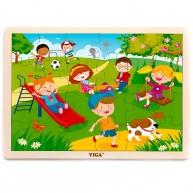 VIGA puzzle 24 db-os TAVASZ 4449