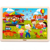 VIGA puzzle 24 db-os ŐSZ 4451