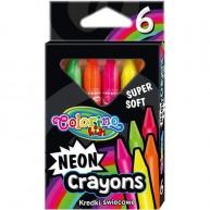 Colorino Kids zsírkréta 6db Neon színű 92050
