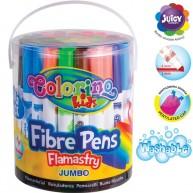 Colorino Jumbo filctoll készlet vödörben 48db 92234