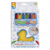 ALEX szappankréta fürdőjáték 6 színnel kacsás szivaccsal 639