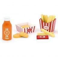VIGA játék sültkrumpli és ketchup tartóval 4661