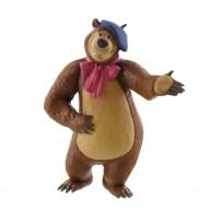 Comansi Mása és a Medve - Medve játék figura festőnek öltözve 99805