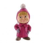 Comansi Mása és a Medve - Mása játék figura téli ruhában 99804