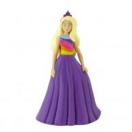 Comansi Barbie Fashion - Barbie játákfigura lila estélyi ruhában 99146