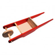 IMP-EX fa talicska piros 0255P