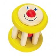 Fa babacsörgő sárga bohócos 2286B