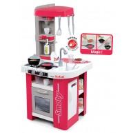 Smoby gyerek konyha Tefal Studio 27 részes, szódával, kávéfőzővel, elektronikus tésztafőzővel 311022