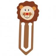 Könyvjelző fából oroszlános 1320D