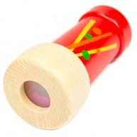 IMP-EX fa kaleidoszkóp kicsi piros 3158A