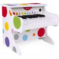 JANOD játék zongora konfetti mintás 7618