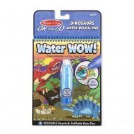 Melissa & Doug vízzel kiszínezhető füzet dinoszauruszos Water WOW! 4 képes 9315
