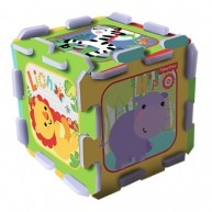 TREFL Szivacs puzzle szőnyeg - Fisher Price dzsungel móka  TRF60399