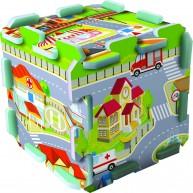 TREFL Szivacs puzzle szőnyeg - városi móka  TRF60696