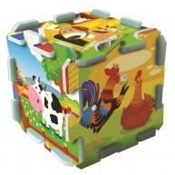 TREFL Szivacs puzzle szőnyeg - farm móka  TRF60697