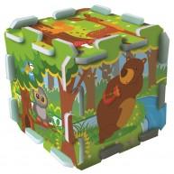 TREFL Szivacs puzzle szőnyeg - erdei móka  TRF60698