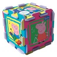 TREFL Szivacs puzzle szőnyeg - Peppa malac  TRF60398