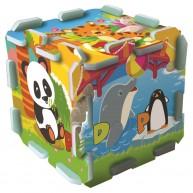 TREFL Szivacs puzzle szőnyeg - állatkerti móka  TRF60695