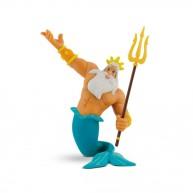 Bullyland  Ariel, a kis hableány - Triton király játék figura 12354